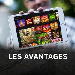 jouant sur iPad